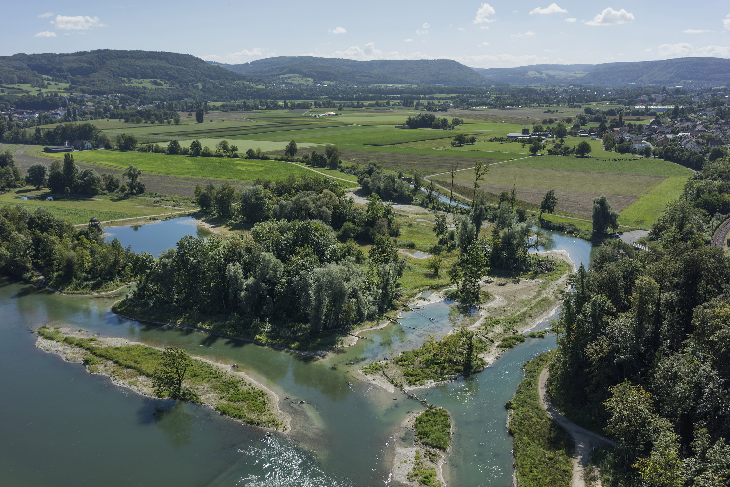 Paysage 2000 tout chly rhy, rietheim (ag) | plateforme renaturation